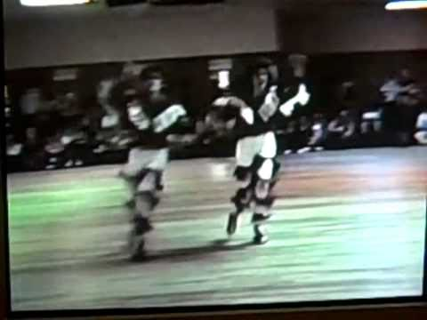 1987 Athens, AL Skate contest Darrin and Michelle