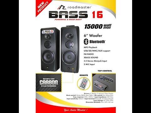 Roadmaster Speaker Aktif Floor Standing Bluetooth Bass 16 - Review