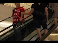 TOUCHING GUYS ESCALATOR PRANK - (GAY EDITION)