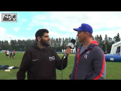 Dylan Hartley Interview at O2 Touch Tour, Nottingham