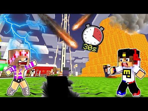 Майнкрафт но КАЖДЫЕ 30 СЕКУНД в мире происходит АПОКАЛИПСИС в Майнкрафте Троллинг Ловушка Minecraft