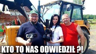 Rolnik Z Hollywood Ma Gości ! ☆ Zdjęliśmy Tura W Traktorze