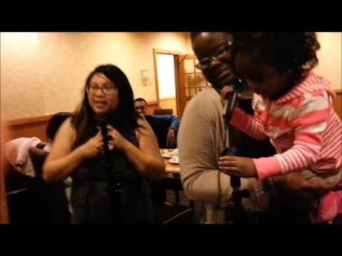 Highlights from the last-minute R.O.C.K.S. Karaoke Event (via Galaxy S3)  - 1/1/2013