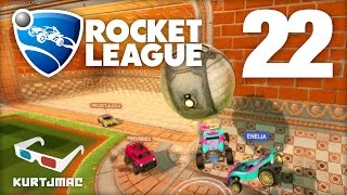 "Rocket League 3v3 ""FLOATERS & PINCHERS"" w/ Eneija & Lofty - 22"