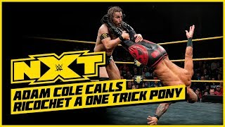 WWE NXT Feb. 13, 2019 Full Show Review & Results: RICOCHET VS ADAM COLE PART 2!