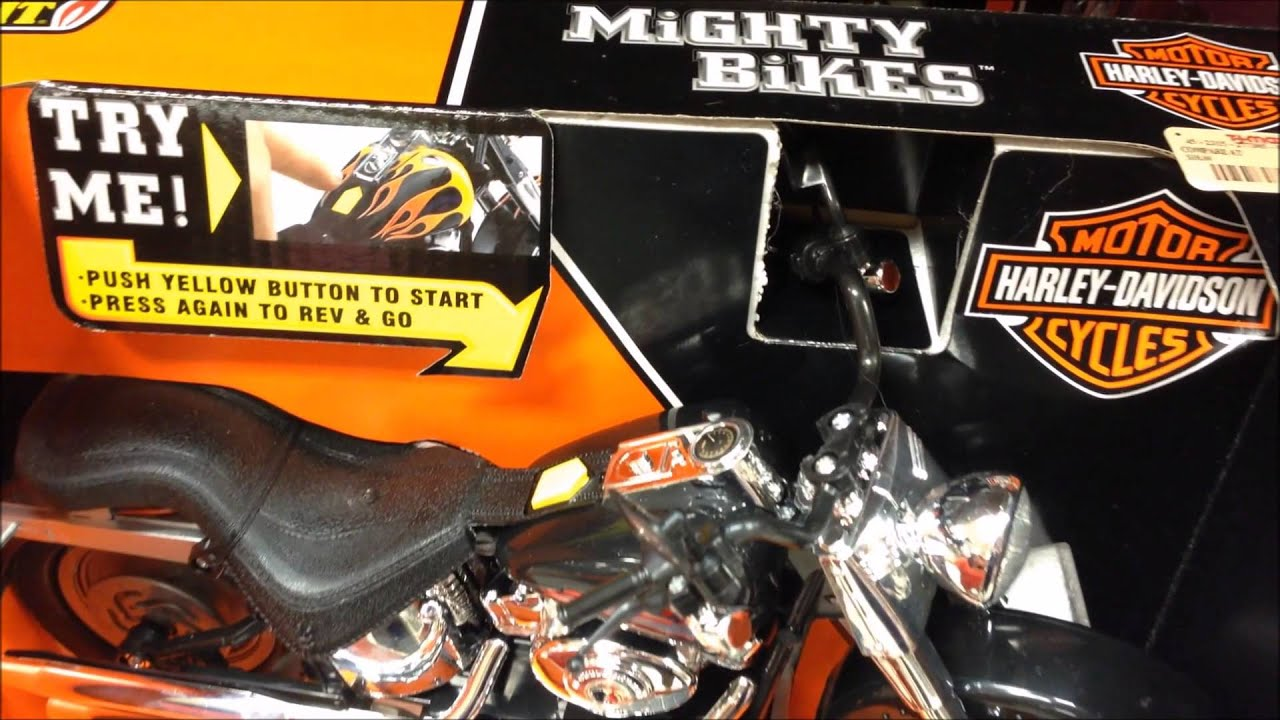 Toys From Tj Maxx : Mighty bikes toy the harley davidson with light motion and