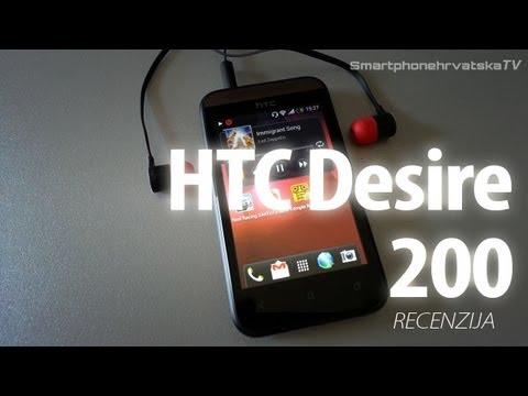 HTC Desire 200 Video recenzija