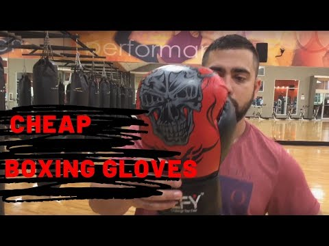 Economic And Cheap Boxing GloveS Review DEFY Boxing Gloves For Training MMA Muay