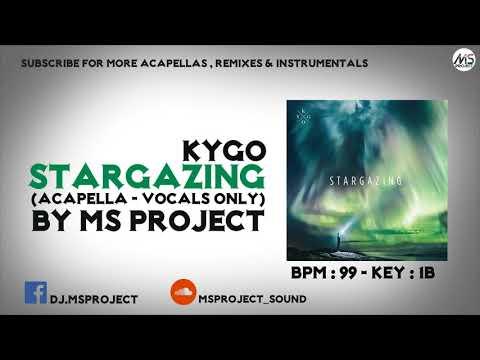 Kygo - Stargazing Acapella - Vocals Only