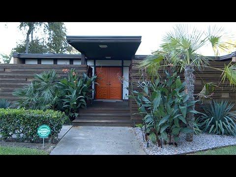 Captivating Garland Mid Century Modern House   YouTube