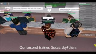 Roblox: Hilton Hotels: Training center [1]