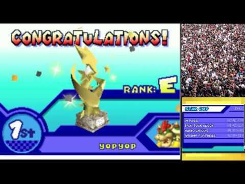 Mario Kart DS 300cc Speed Hacks on DeSmuME! #2