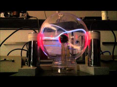 Experiment #8 - Producing A Wireless Cold Plasma Discharge In A Plasma Ball