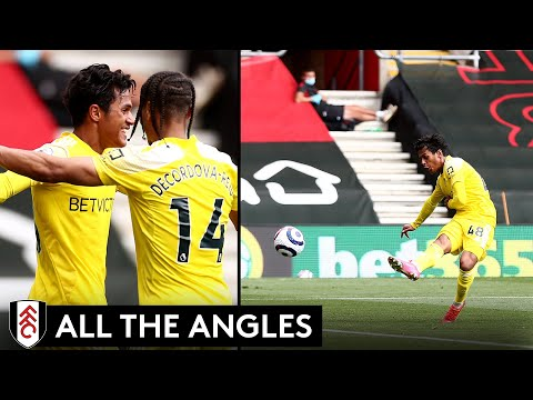 All The Angles: Fabio Carvalho scores on full Premier League debut!