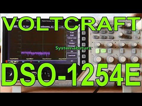 Voltcraft Oszilloskop DSO1254E DSO-1254 Oscilloscope Bugs Crashes Fail - Review ohne Worte