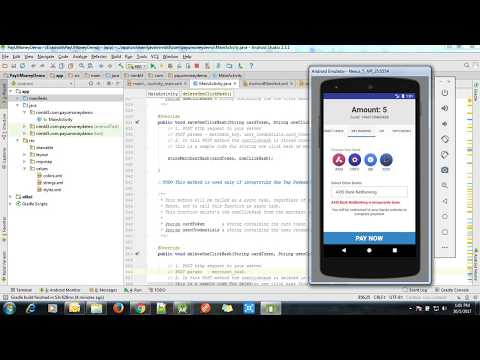 PayU Money Integrating on Android Studio - YouTube