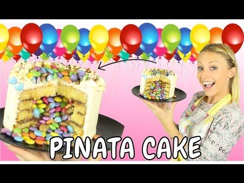 ♡•-un-gÂteau-surprise-|-recette-pinata-cake-•♡