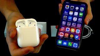 ASMR Apple AirPods Unboxing [Binaural Tapping, Crinkling, Etc.]