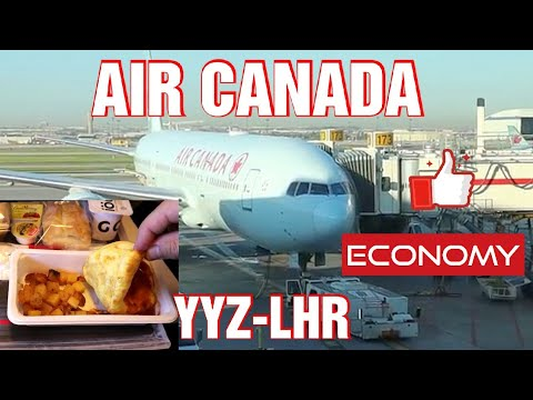 Air Canada In Economy To London Heathrow