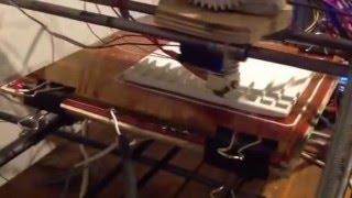 3d принтер. Печать макета дома. Пол(, 2015-10-20T19:47:12.000Z)