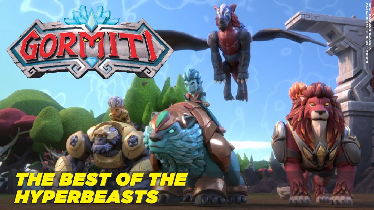 Gormiti | Best Moments - Hyperbeasts - YouTube