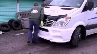 видео mercedes sprinter фургон на нашем