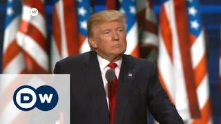 ترامب يعلن قبوله ترشيح الحزب الجمهوري له بسباق الرئاسة الأمريكية   الأخبار