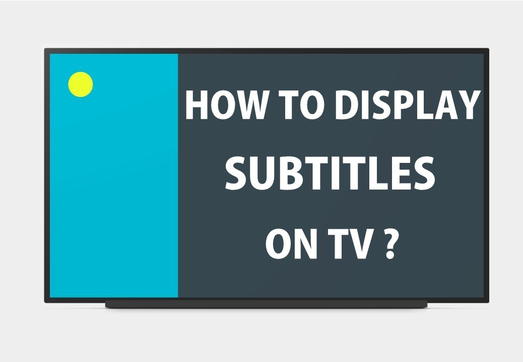 How to add subtitles to movie on tv youtube ccuart Choice Image