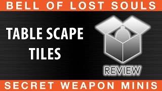 Bols Unboxing Tablescape Tiles | Secret Weapon Miniatures