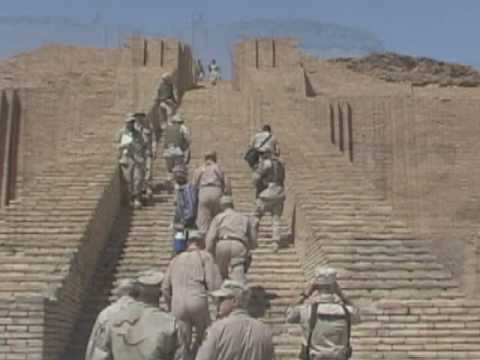 Ziggurat of Ur, Abrahams birthplace (Genesis 11)