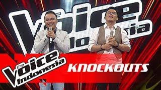 Gancar vs Gok | Knockouts | The Voice Indonesia GTV 2018