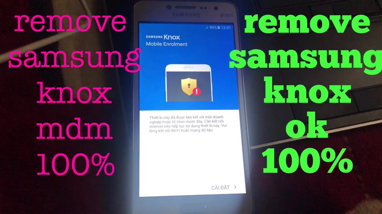 how to remove mdm from samsung - frp done