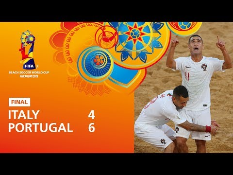[FINAL] Italy V Portugal Highlights - FIFA Beach Soccer World Cup Paraguay 2019™