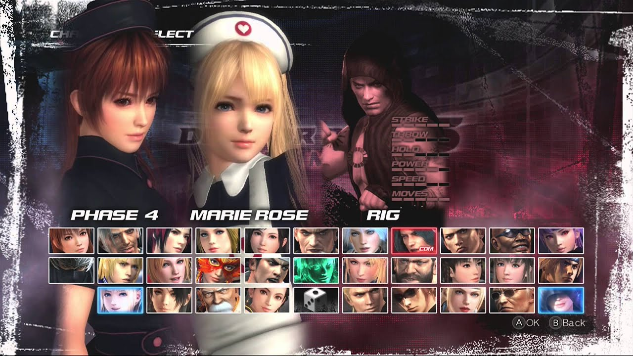 dead or alive 5 ultimate phase 4 and marie rose tag team