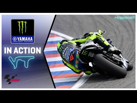Yamaha in action: Argentina Grand Prix