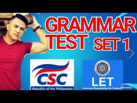 LET (BLEPT) GENED ENGLISH TEST 1