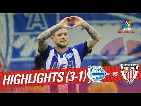 Resumen de Deportivo Alavés vs Athletic Club (3-1)
