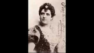 "Giuseppina Huguet and Francesco Cigada Sing ""Nega se puoi la luce,""  From Hamlet  1906?"