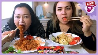 กินมาม่าเกาหลีเผ็ดx2กับยายและคามิลล่าค่ะ thumbnail