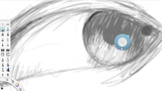 Charles Armstrong (CEO) Shows how to sketch an Eye using Autodesk Sketchbook Pro 2014