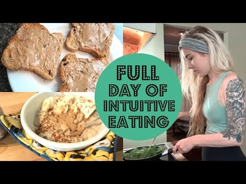 Full Day of Intuitive Eating // REST DAY + Bad Body Image?