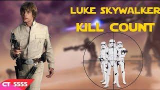 Star Wars Luke Skywalker Kill Count