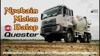Nyobain Nyetir Truck Mixer Pembawa Beton
