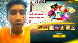 12 year boy ask me for buying pirate flag emote from special air drop-Garena free fire