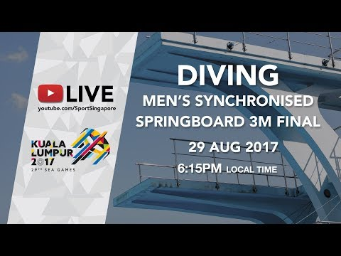 Diving Men's Synchronised 3m springboard final | 29th SEA Games 2017