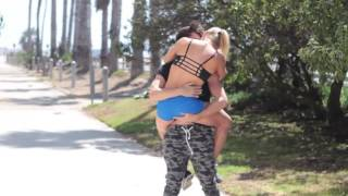 Kissing Prank |  HOMELESS EDITION | Prank Invasion
