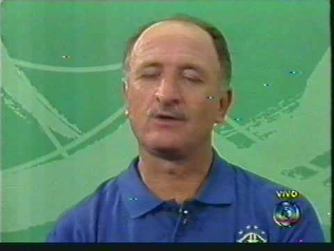Entrevista de Luiz Felipe Scolari após a conquista da copa 2002