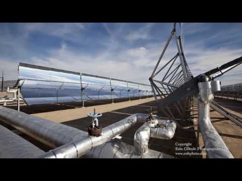 Nevada Solar One   Time Lapse Photography