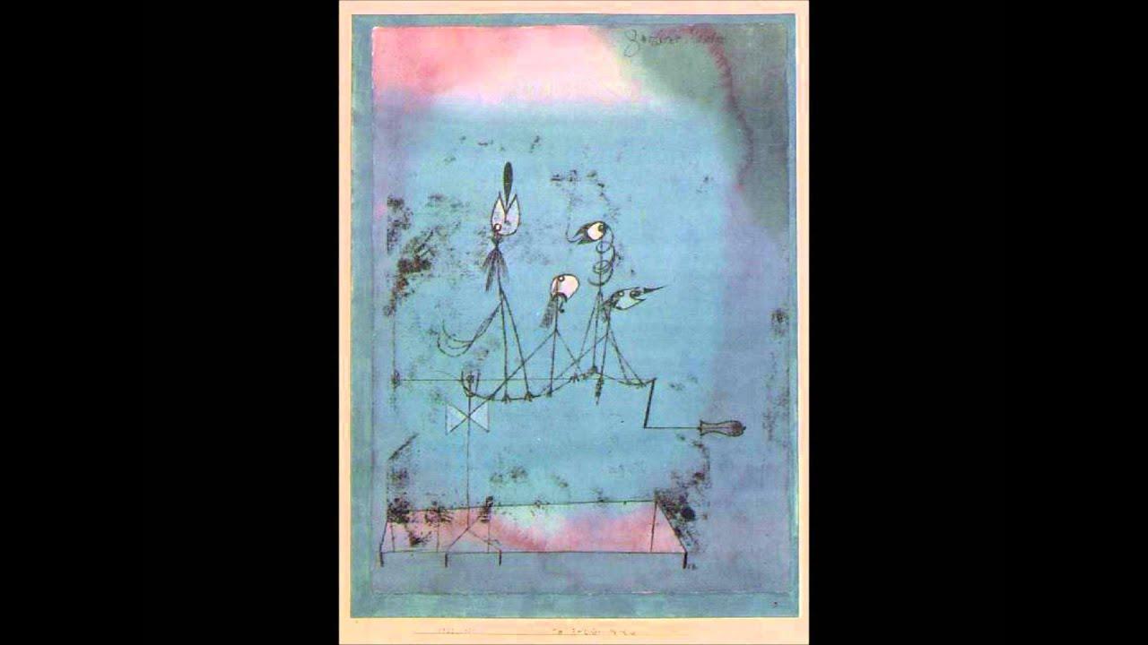 Twittering Machine >> Twittering Machine From Paul Klee Painted Songs Youtube