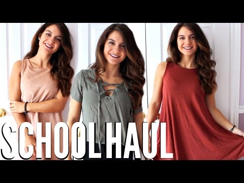 CHEAPEST BACK TO SCHOOL Clothing Haul 2016-2017   TRY-ON